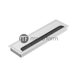 ukopavajuća rozetna 80x280 aluminijum