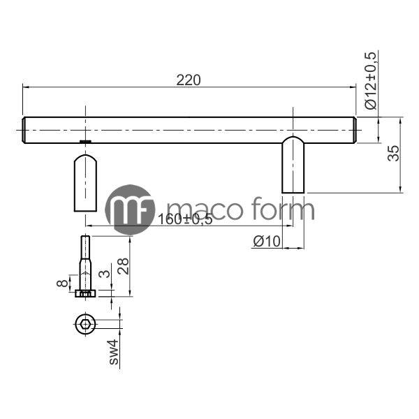 rucica-t-bar-160-tehnicki-podaci