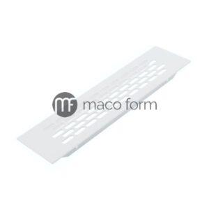 ventilaciona rešetka, 244×60 mm, bela