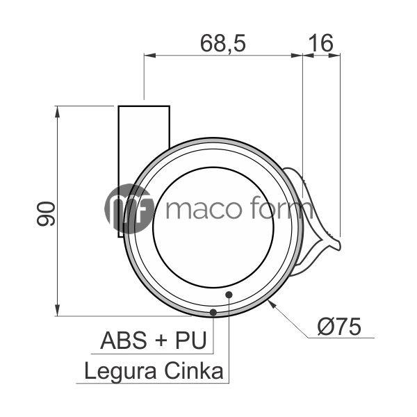 Koev-fi75-kocnica-bez-nastavka-tehnicki-podaci