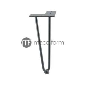 Noga ARTO crna, visina 304 mm, 2 šipke