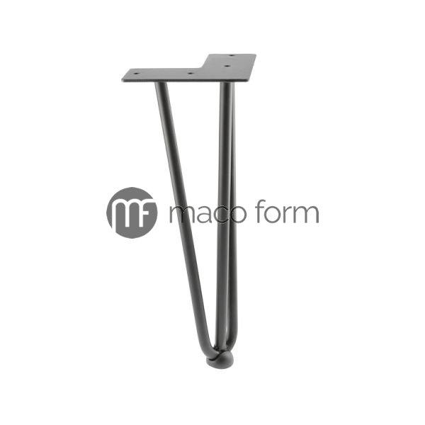 Noga ARTO crna H304 fi10 3 sipke