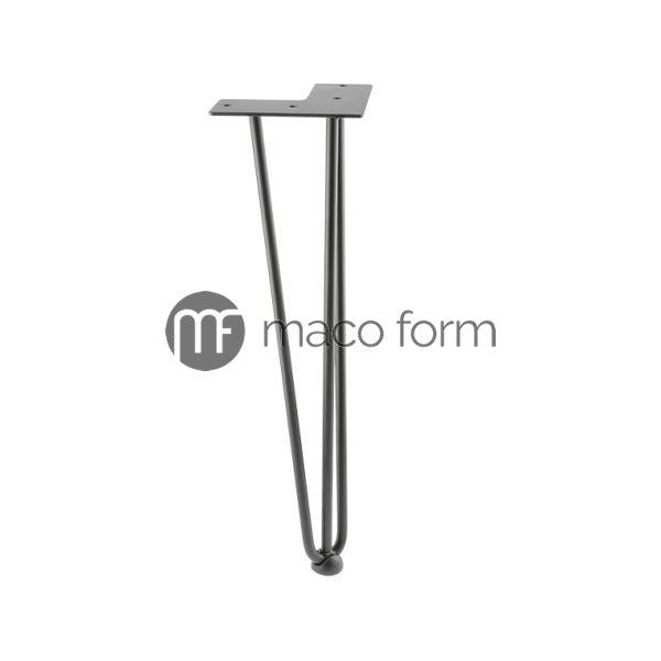 Noga ARTO crna H406 fi10 3 sipke