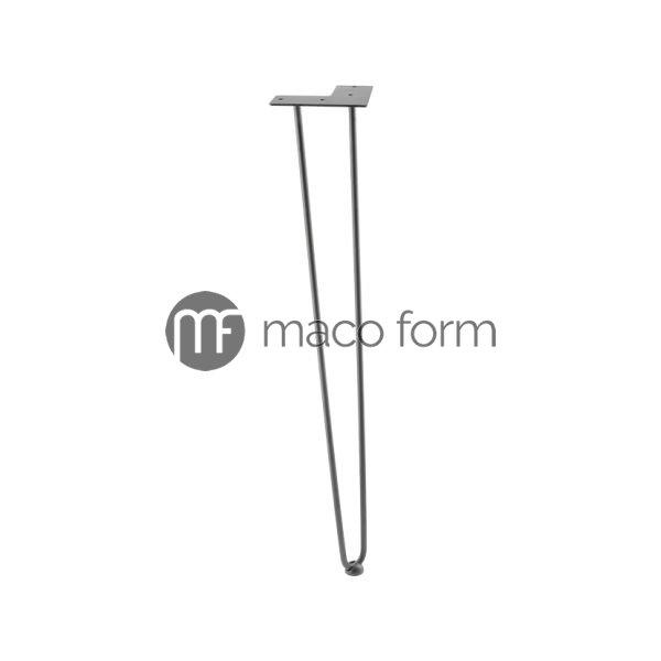Noga ARTO crna H711 fi10 2 sipke