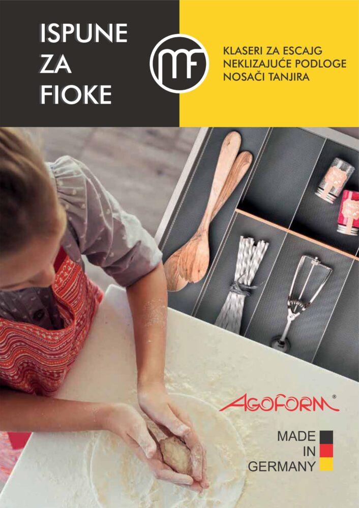 Agoform - Novi katalog proizvoda - Ispune za fioke