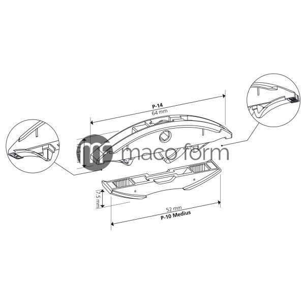 lamello-spojnica-clamex-p-14-flexus-tehnicki-podaci