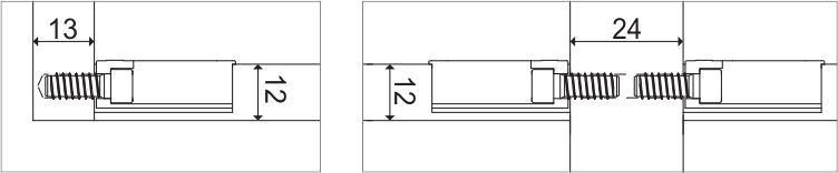 Cabineo spojnica 12 - debljina materijala