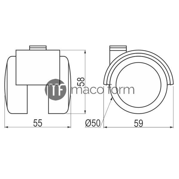 pvc-tockic-fi50-dikson-crni-siva-guma-teh