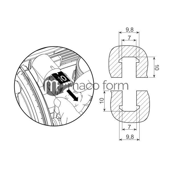 LM Keks BISCO P-10, plasticni-tehnicki-podaci