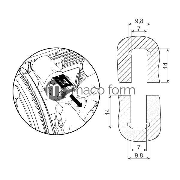 LM Keks BISCO P-14, plasticni-tehnicki-podaci