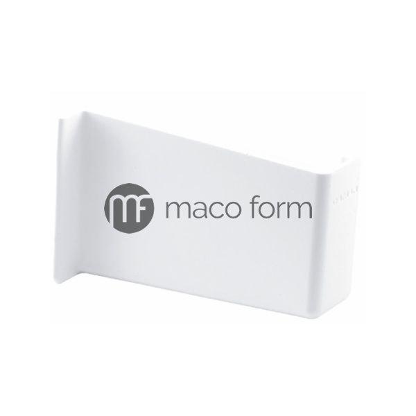 Maska za nosac kuh elemenata, bela, desna