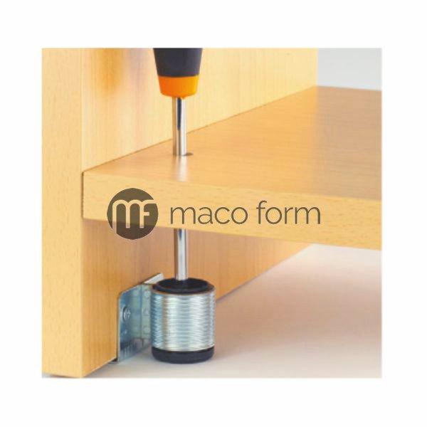 Nogica za nivelaciju 32mm – fi28, bez rupa za mont – primena2
