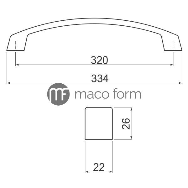 rucica-uz-g1-320mm-tehnicki-podaci